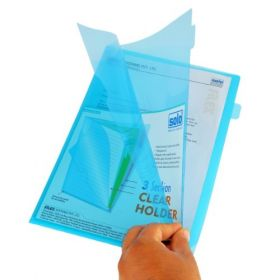 3 Section Clear Holder, Pack of 5 pcs, (CH110)