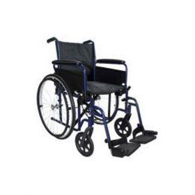 Deluxe Steel Wheelchair