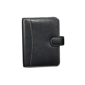 Personal Planner Leather-Black