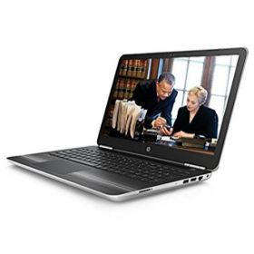 HP Pavilion 15-AU003TX 15.6-inch HD Premium Laptop (Intel Core i5-6200U/8GB RAM/1TB HDD/Win 10 ) Natural Silver