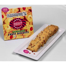 Karachi Fruit Biscuit 250 Grms