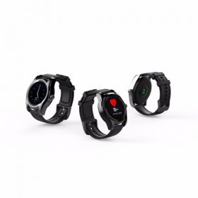 Nuvonn Nu-027 Smart Roundwatch With Dynamic Heart Rate