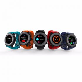 Nuvonn Nu-028  Multi - Sports Gps Watch With Dynamic Heart Rate