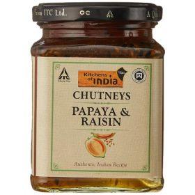 Kitchens of India Papaya Raisin Chutney, 300g