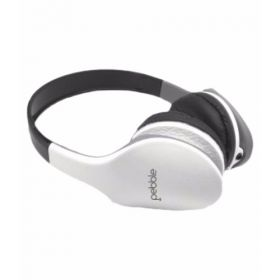 Pebble Wave Aux Headphones- White