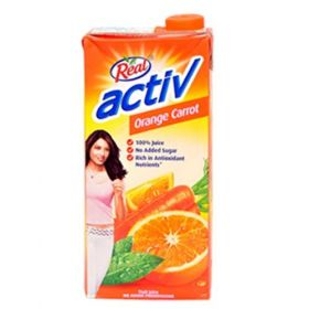 Real Activ Orange Carrot Juice 1 Liters