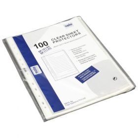 Sheet Protectors - 11 Hole, Set of 100 pcs (SP101)