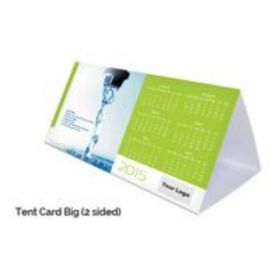 Tent Card Calendar (2 Sided) (20 Pcs)