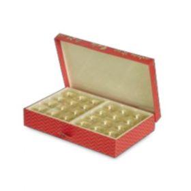 Peach Rectangular 600 - 1000 Gms Box (24 Parts)