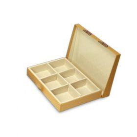 Gold Rectangular 900 - 1500 Gms Box (6 Parts)