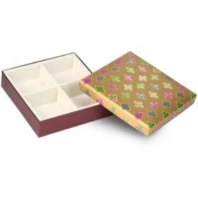 Antique Gold Square 300 - 500 Gms Box (4 Parts)