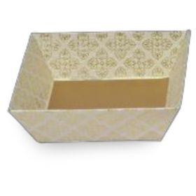 Tatva Gift Packing White Medium Square Tray