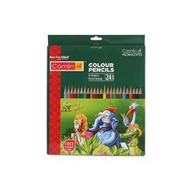 Camel 4196591 Full Size 24-Shade Colour Pencil (Set Of 5)