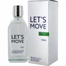 Benetton Let'S Move Edt 100Ml Sp(M)