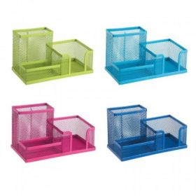 Deli 9154 Versatile Pen Stand (Assorted) - 1 Pc