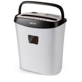 Deli 9928 Paper Shredder(White) - 1 Pc