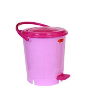 Plastic Pedal Dustbin - Big - 5Pcs