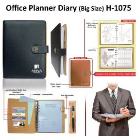 Office Planner Diary (H-1075) - Big Size