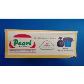 "Pearl Garbage Bags - 30"" X 50"" - 10Pcs"