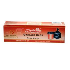 Plastobag Jumbo Garbage Bag - 10Pcs