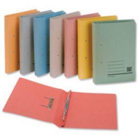 Premium Spring File, Fs, Metal Clip, 550 Gsm - (10 Pcs)