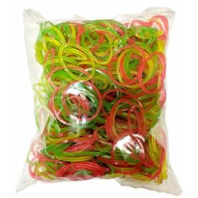 Rubber Band 45 Grams- Assorted - 30 Packs