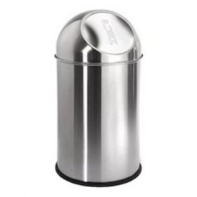 "Stainless Steel Push Bin - 12"" X 36""  - 1 Pc"