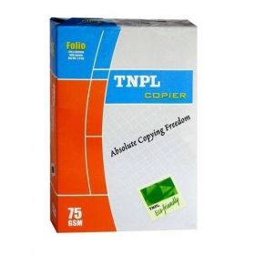 Tnpl Copier Paper Fs 75Gsm White 500Sheet/Ream-5Packs