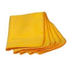 Yellow Cleaning Cloth - Big - 24Pcs
