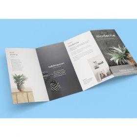 A4 8 Panel Brochures(10 Brochures)