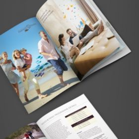 A5 Booklets (Portrait 8 Sides)(25 Booklets)