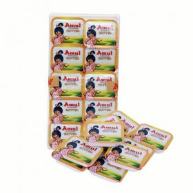 Amul Butter 20 g - Pack 0f 50