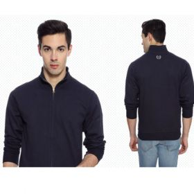 Arrow Men'S Sweatshirt - Navy Blue(Xxl)