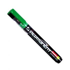 Camlin Permanent Marker Pen,Green - 7270175 (Pack Of 10)- 10 Packs(100 Pcs)