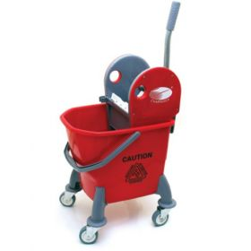 Charnock Single Bucket Without Partition Mop Wringer Trolley C125  - 1 Pc