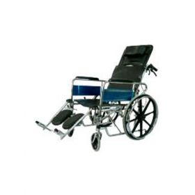 Deluxe Reclining Wheelchair With Out Commode