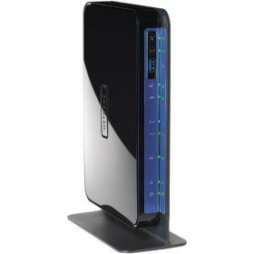 Netgear DGND3700-100PES N600 ADSLl Modem Router (Black)