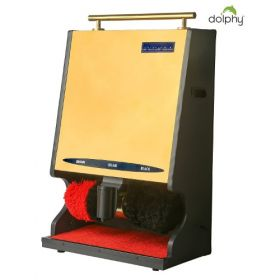 Automatic Shoe Polish / Shiner Machine - Gold - Heavy