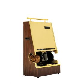 Automatic Shoe Polish / Shiner Machine - - Gold - Heavy With Sole Cleaner