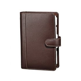 Executive Planner Leather-Brown