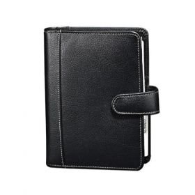 Personal Planner Synthetic-Black
