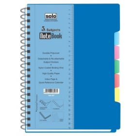 5-Subjects Note Book (300 Pages(NA457))
