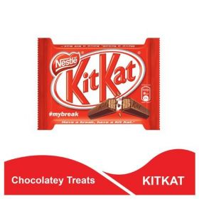 Nestle Kit Kat - Crisp Wafer Fingers Covered With Chocolate, 12.8 grms ( Pack Of 36 )