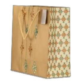 Designer Antique Gold Paper Bag ( Pb 1704 )