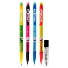 Gudluk Clutch Pencil 0.5 with Leads, Pack of 5 pcs, FLAT 20% OFF mini. 20 Qty, (PL605)
