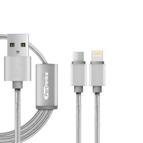 Portronics Konnect-2 Two-In-One Multi Function Cable