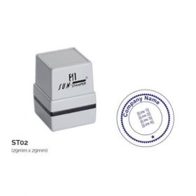 Preinked Stamp 29Mm Ă— 29Mm