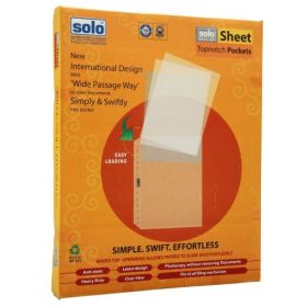 Sheet Protectors - Topnotch pockets,Packs of 100 pcs (SP201)
