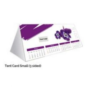 "Tent Card Calendar (3 Sided) 10"" X 5"" - Small(20 Pcs)"