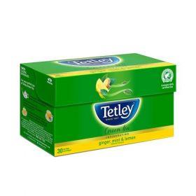 Tetley Green Tea - Ginger Mint Lemon, 30 Teabags
